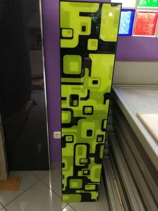 armario columna suspendida 35x27fondox160cm