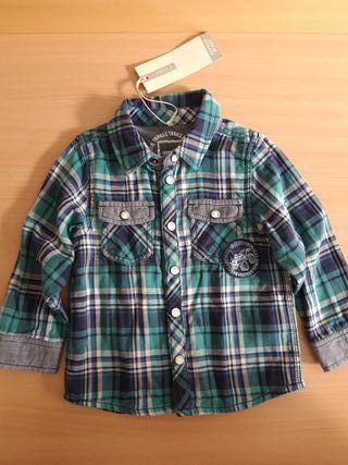 Camisa NUEVA T-9/12M
