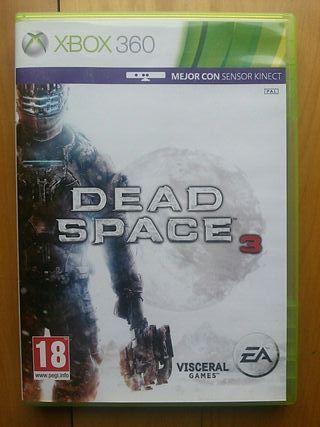 Juegos XBOX 360 (Dead Space 3)