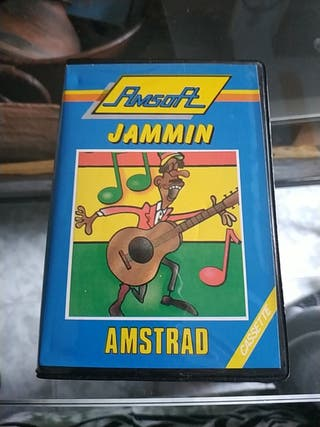 JAMMIN para Amstrad en formato cinta