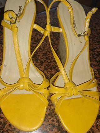 c4b89d8eb Zapatos para mujer con plataforma de segunda mano en la provincia de ...