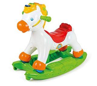 caballo balancin,clementoni muy poco uso