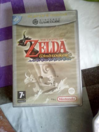 the legend of zelda the wind waker(game cube)