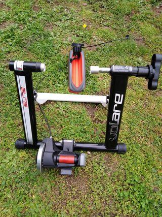 Rodillo entrenamiento bicicleta carretera