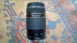 TELEOBJETIVO CANON EF 75-300mm f/4-5.6 III USM