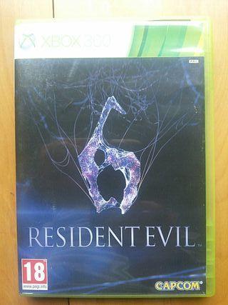 Juegos XBOX 360 (Resident Evil 6)