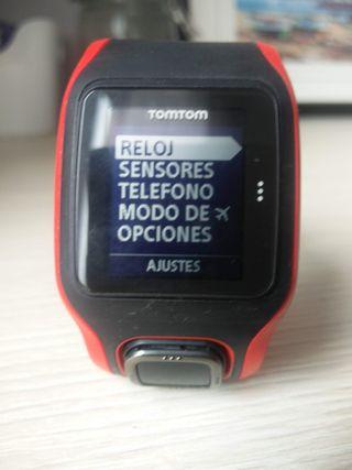 Reloj pulsometro GPS Tomtom Runner Cardio