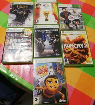 juegos de la Xbox 360 en buen estado