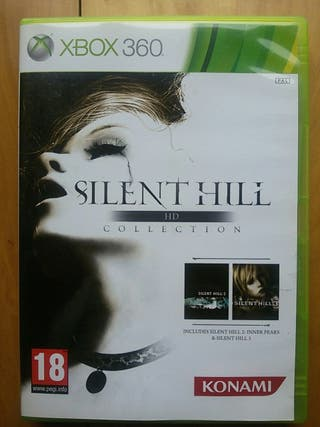 Juegos XBOX 360 (Silent Hill HD COLLECTION)