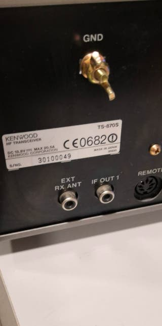 emisora hf Kenwood ts 870