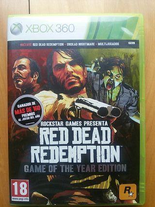 Juegos XBOX 360 (Red Dead Redemption GOTY)