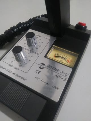 Zetagi mb+5 Emisora Radioaficionado