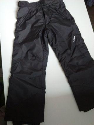 Pantalón ski niño, talla 10