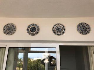 plato decorarivo pared terraza