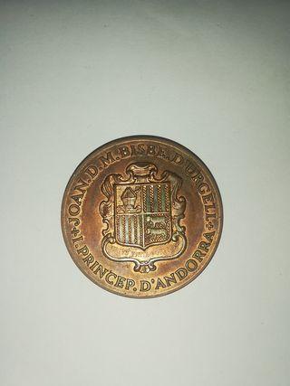 medalla de Andorra 1986