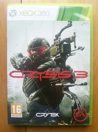 Juegos XBOX 360 (Crysis 3)