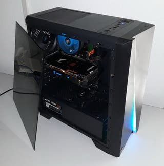 Ordenador PC completo LED RGB sobremesa gaming