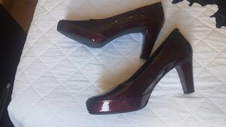 zapato de charol talla 41