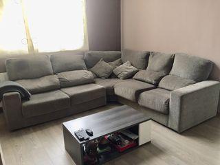 Sofa esquinero gris ( BUENA CALIDAD )