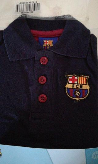 Polo oficial bebé del Barca