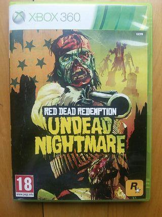 Juegos XBOX 360 (Red Dead Undead Nightmare)