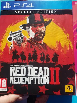 juego PS4 Red dead redemption 2 especial edition