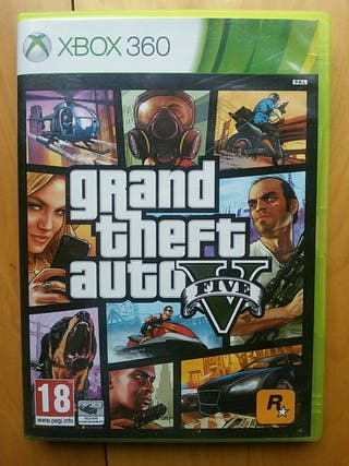 Juegos XBOX 360 (Grand Theft Auto V)