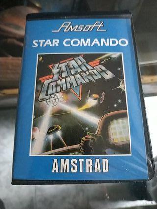 STAR COMANDO para Amstrad en formato cinta