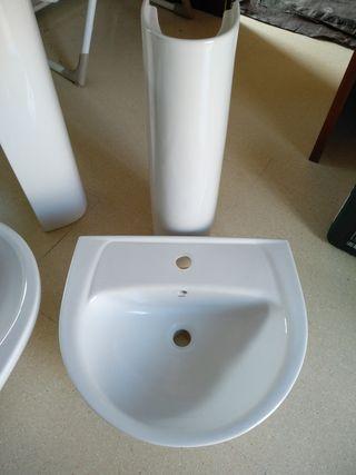 lavamanos con pié