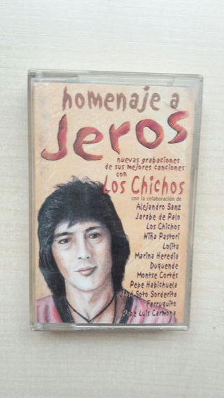 Cinta Casete Homenaje al Jeros. Los chichos.