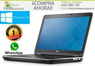 Portátil dell E6440, i5, SSD / Cam / Windows 10 Gr