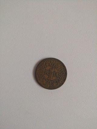 moneda antigua de 1944