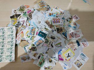lote 500 sellos matasellados