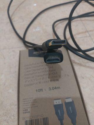 Cable adaptador de DisplayPort a HDMI