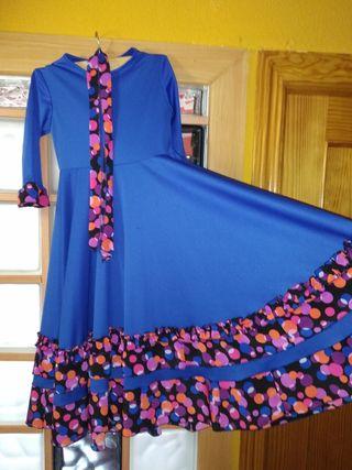 Vestido de flamenca y complementos