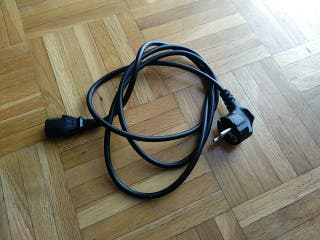 cable de alimentación pc