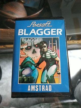 BLAGGER para Amstrad en formato cinta