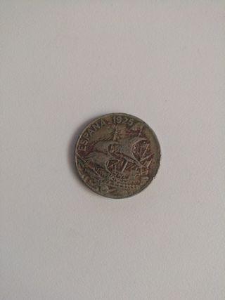 moneda antigua de 1925
