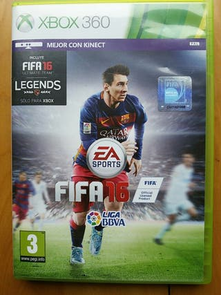 Juegos XBOX 360 (FIFA 16)