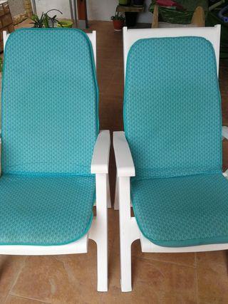 sillón plegable