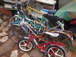 Lote 6 bicicletas y un triciclo de drift