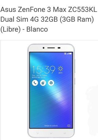 """ASUS ZENPHONE 3 MAX 5,5"""" MEMORIA 32GB eMCP"""