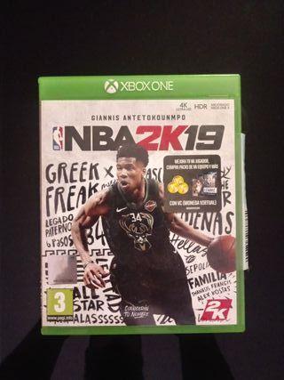 NBA 2K live xbox one