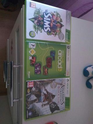 Pack juegos Xbox360