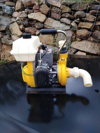 Moto bomba de agua