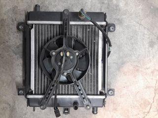 radiador kymco xciting 250 500