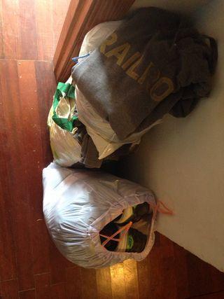 6 bolsas de ropa 50 euros