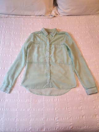 Blusa verde pastel