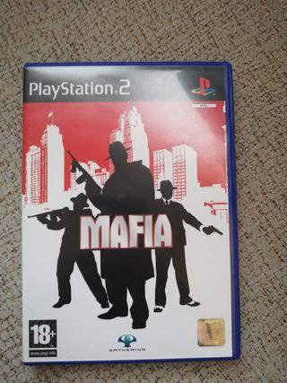 Videojuego MAFIA PS2 Playstation 2