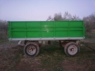 remolque basculante de tractor